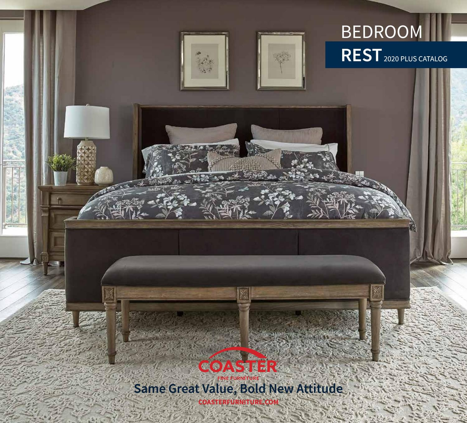 Coaster 2020 Plus Bedroom Catalog Rest By Coaster Company Of America Issuu Download coaster bedroom furniture
