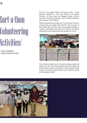 Page 23 of Sort a thon Volunteering Activities