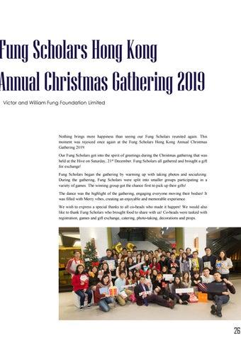 Page 30 of Fung Scholars Hong Kong Annual Christmas Gathering 2019