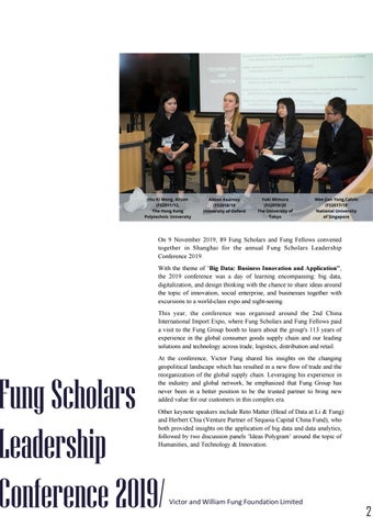 Page 6 of Fung Scholars Leadership Conference 2019