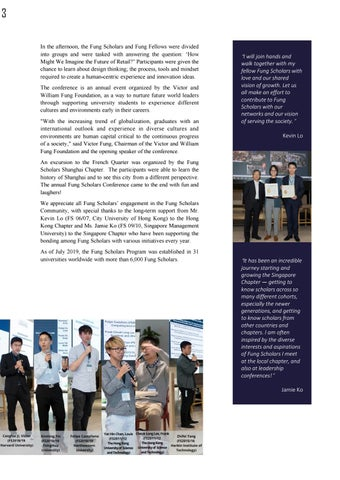 Page 7 of Fung Scholars Leadership Conference 2019