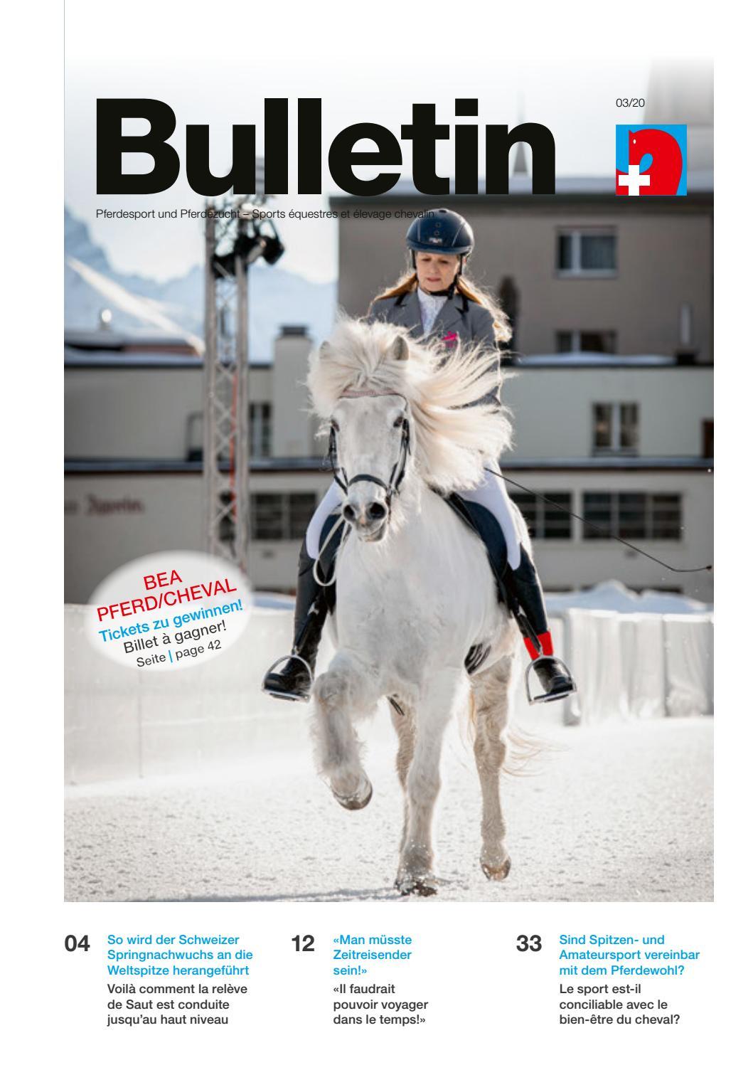 bea pferd/cheval - Schweizerischer Verband fr Pferdesport