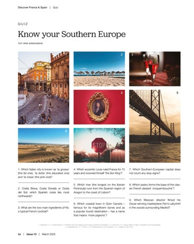 Page 66 of Know your Southern Europe