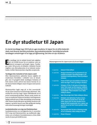 Page 6 of dyr studietur til japan
