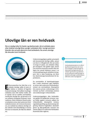 Page 7 of ulovlige lån er ren hvidvask