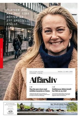 Kristina Liljeholm, 53 r i Stora Sundby p Brsta Myrbacken