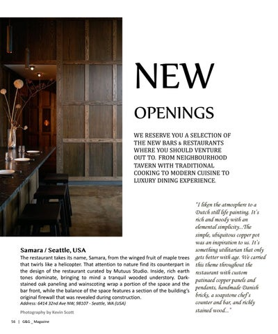 Page 56 of NEW OPENINGS