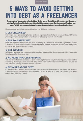 Page 14 of WAYS TO AVOID DEBT
