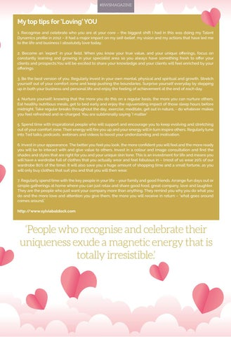 Page 19 of COVER STORY - SYLVIA BALDOCK THE POWER OF LOVE