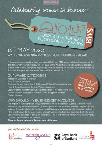 Page 22 of BWS AWARDS