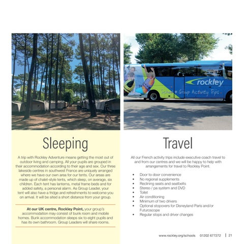Page 21 of Sleeping & travel