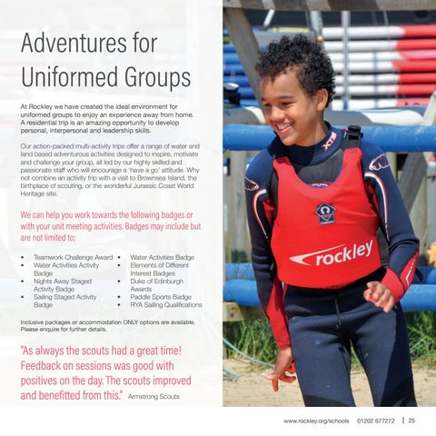 Page 25 of Uniformed Groups
