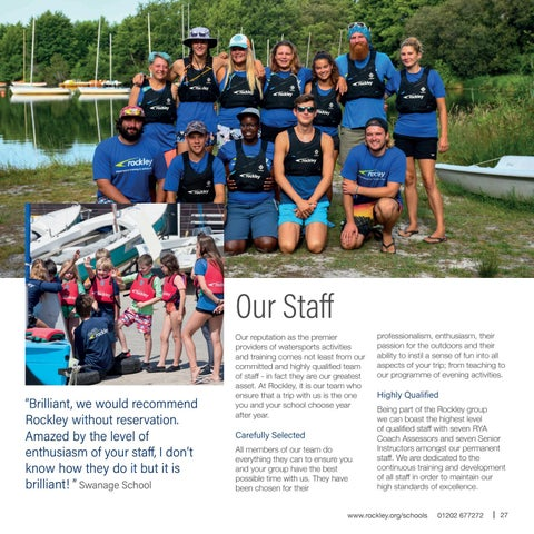Page 27 of Our staff