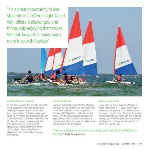 Page 29 of We talk to Twynham teacher, Andy