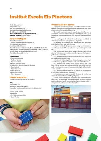 Page 6 of PàgInstitut Escola Els Pinetons