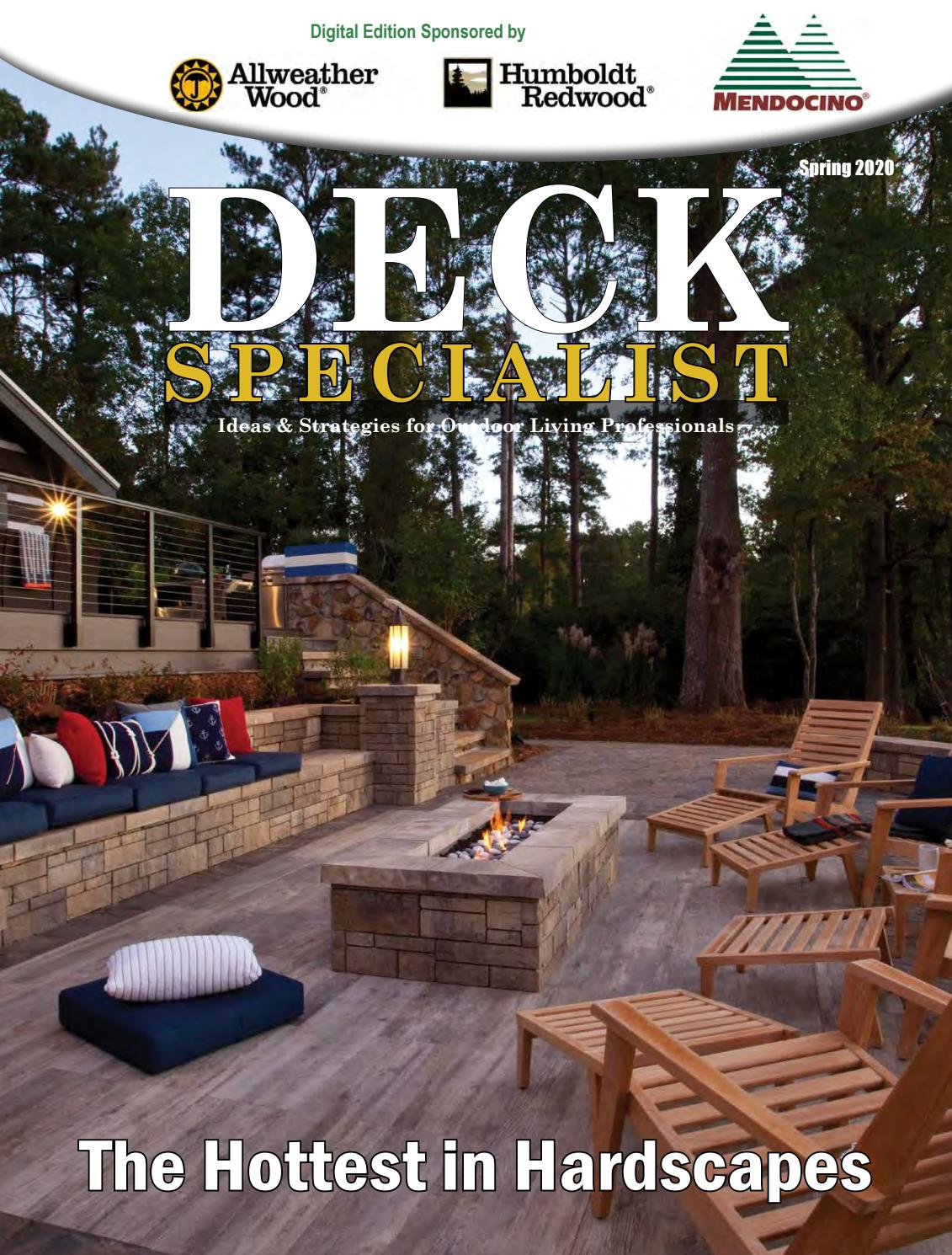 Deck Specialist Spring 20 by 20 Media Group   issuu