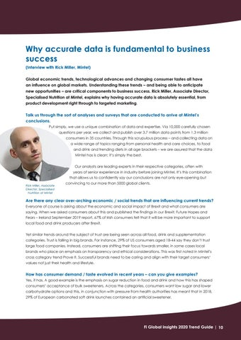 Page 10 of Why accurate data is fundamental to business success (interview with Rick Miller, Mintel