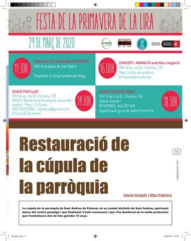 Page 15 of RESTAURACIÓ DE LA CÚPULA DE LA PARRÒQUIA