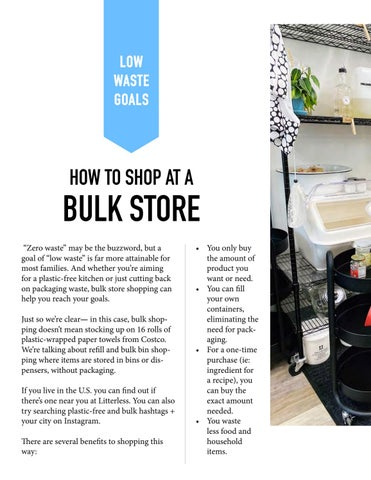 Page 12 of HOW TO SHOP AT A BULK STORE