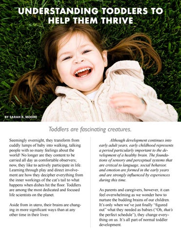 Page 36 of UNDERSTANDING TODDLERS TO HELP THEM THRIVE