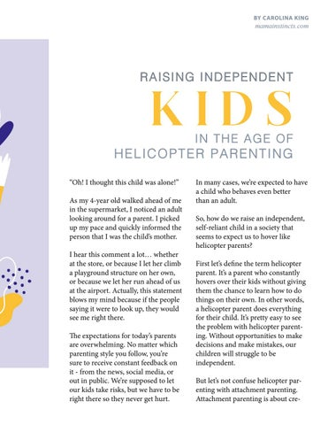 Page 43 of ATTACHMENT VS. HELICOPTER PARENTING
