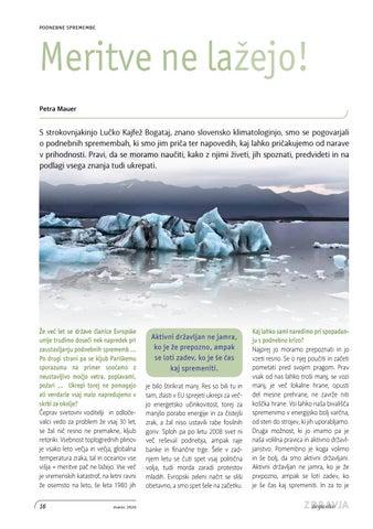 Page 16 of Podnebne spremembe: Meritve ne lažejo
