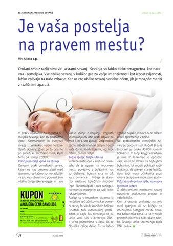 Page 38 of Je vaša postelja na pravem mestu?