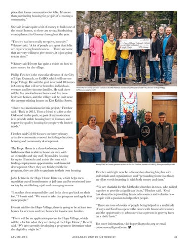 Page 25 of Hope Village Gives Homeless in Conway a New Lease on Life