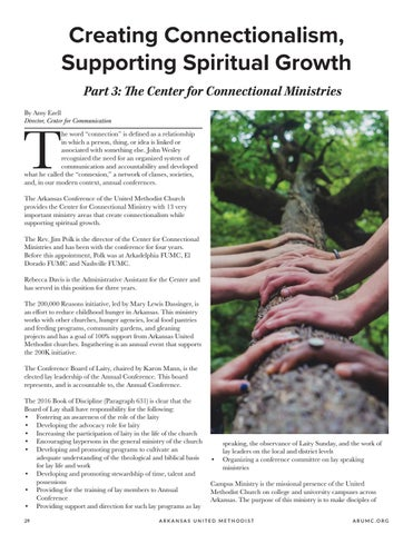Page 30 of Creating Connectionalism, Supporting Spiritual Growth