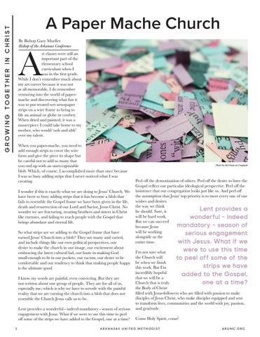Page 6 of A Paper Mache Church