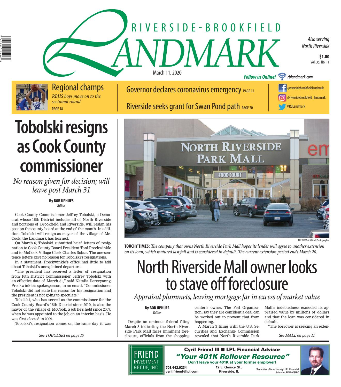 Landmark 031120 By Wednesday Journal Issuu