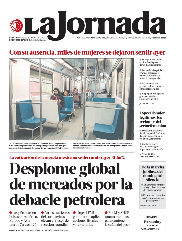 La Jornada, 03/10/2020 by La Jornada - issuu
