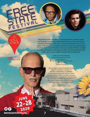 Page 7 of free state festival, exhibitions, & performing arts