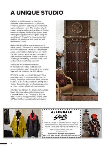 Page 14 of A UNIQUE STUDIO