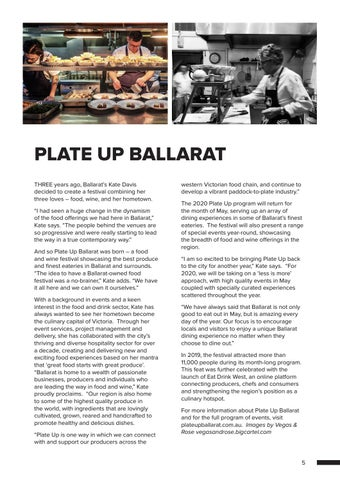 Page 5 of PLATE UP BALLARAT