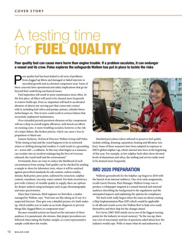 Page 10 of SAFETY: A testing time for Fuel Quality