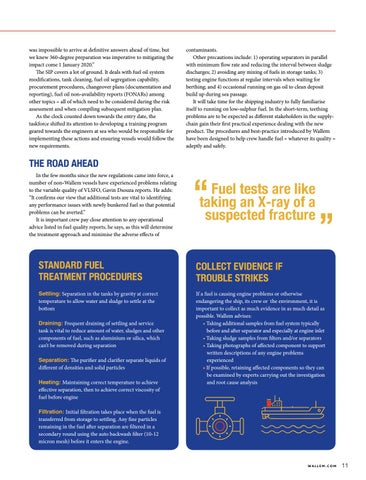 Page 11 of SAFETY: A testing time for Fuel Quality