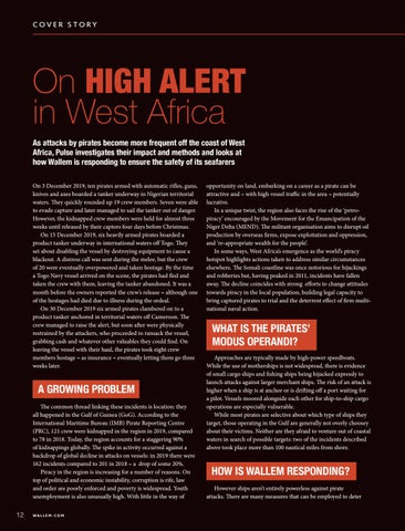 Page 12 of SAFETY: On High Alert in West Africa