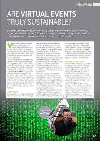Page 43 of Your checklist to exhibiting sustainably The Event Greening