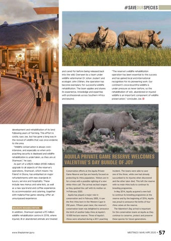 Page 59 of Driving conservation Private game reserves play an