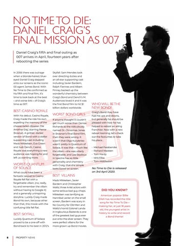 Page 8 of Bond is back