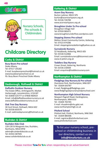 Page 48 of Childcare Directory