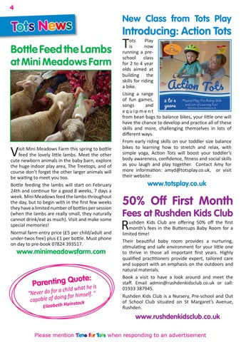 Page 4 of Tots News