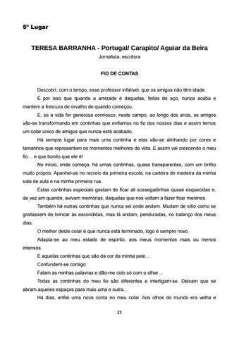 Page 22 of TERESA BARRANHA - Portugal/ Carapito/ Aguiar da Beira