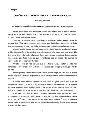Page 25 of VERÔNICA LAZZERONI DEL CET - São Holambra, SP