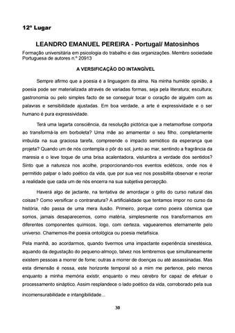 Page 31 of LEANDRO EMANUEL PEREIRA - Portugal/ Matosinhos
