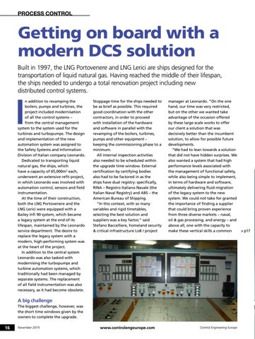 Page 16 of Getting on board with a modern DCS solution