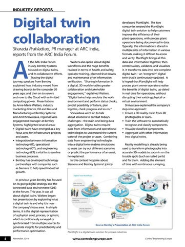 Page 4 of Digital twin collaboration discussed at ARC India Forum