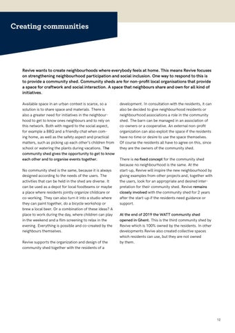 Page 12 of Creating communities