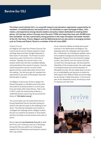 Page 14 of Revive for ULI